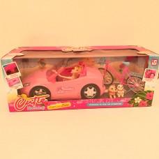 Барби на машине