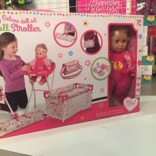 Набор аксессуаров для куклы c куклой