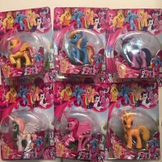 Герои  -Пони в упаковке 6 шт.лист