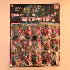 Герои  - Monster high 15шт.лист